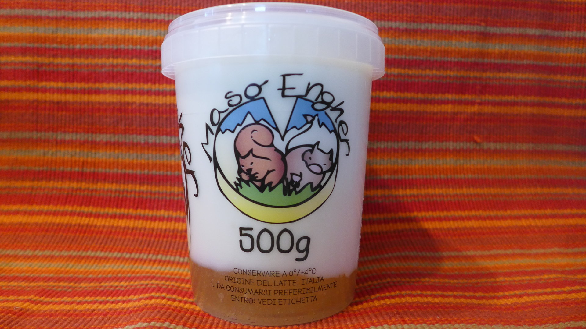 Yogurt alla mela - 350 gr